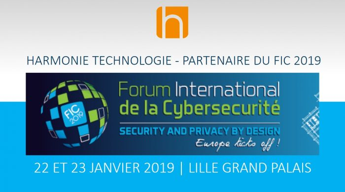 FIC 2019 Security Privacy by design Harmonie